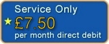 Service Only - £6.75 per month by direct debit